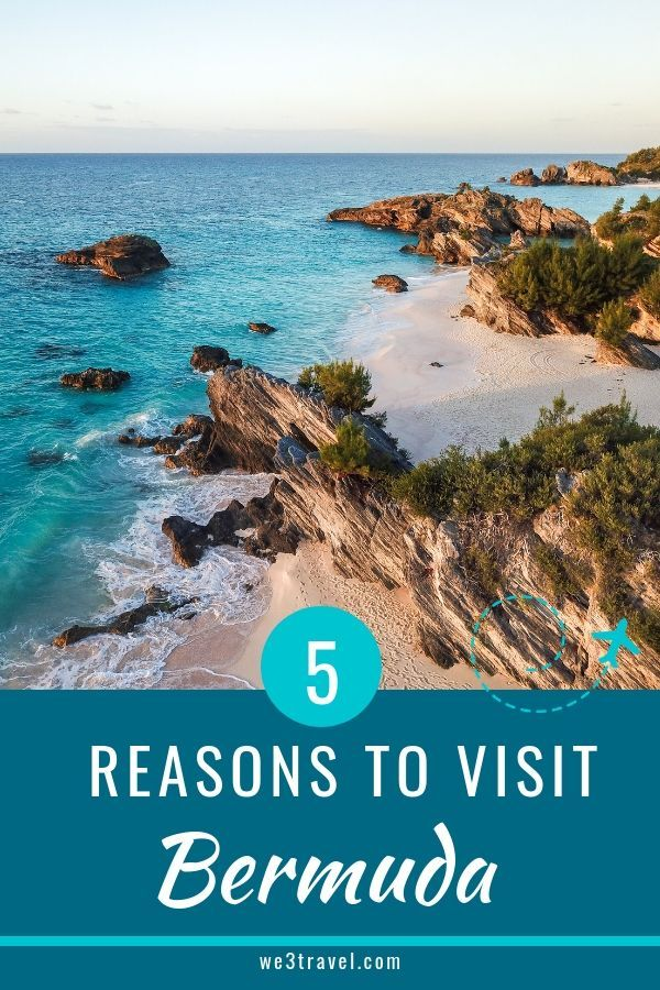 5 Reasons Bermuda Makes A Great Weekend Getaway From