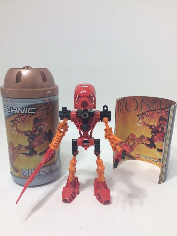 Lego Bionicle Toa Mata Tahu (8534) #LEGO | eBay & E-Commerce Great
