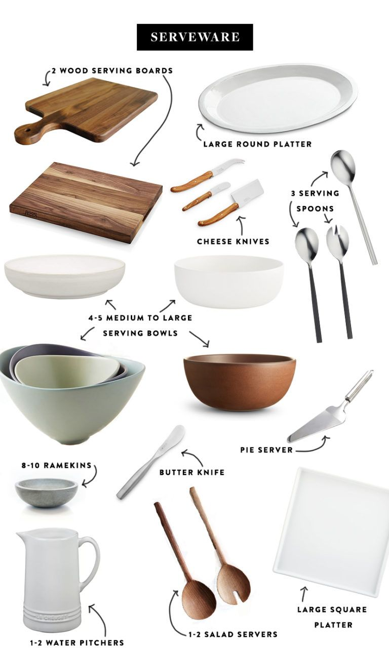 The Ultimate List of Kitchen Essentials #minimalistkitchen