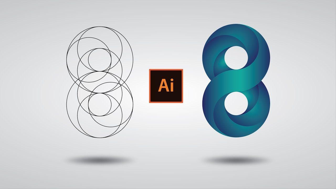 Illustrator cc Tutorial: Swirling Infinite Logo Design in