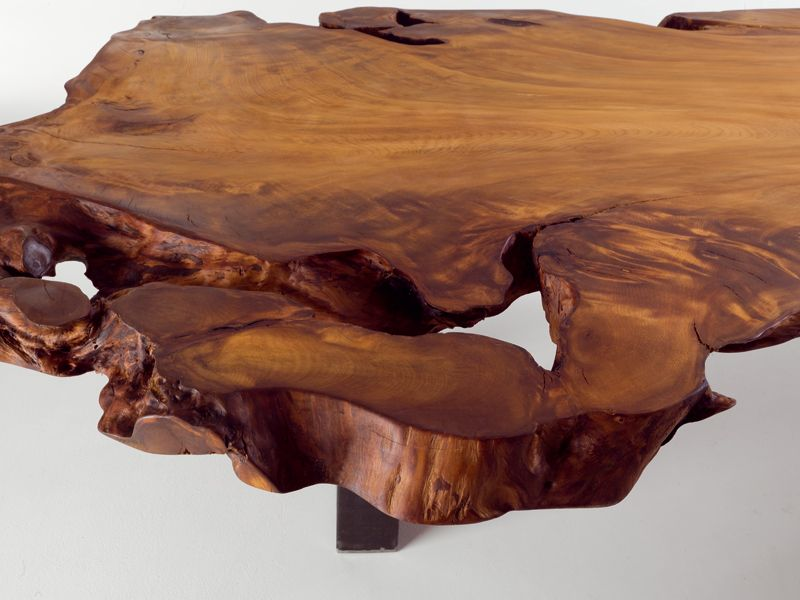 One piece kauri wood table auckland by riva 1920 design for Mobili wooden art