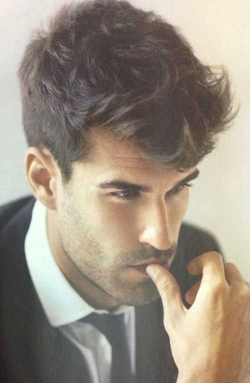 20 Messy Hair Styles For Men 14 Pompadour Men Haircuts For Men Mens Messy Hairstyles