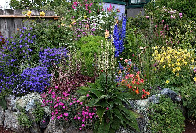 Spring Garden  by anniesannuals, via Flickr