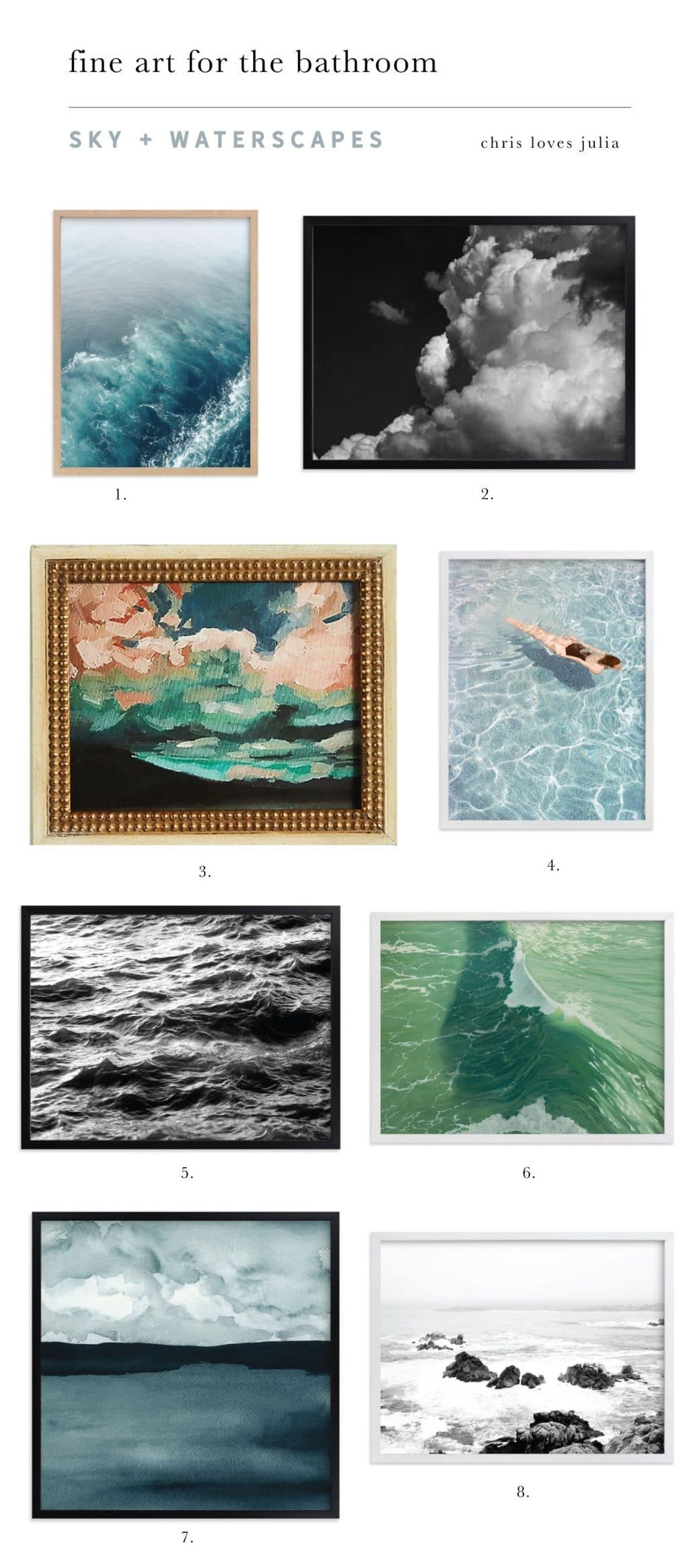 21 Fine Art Pieces For The Bathroom