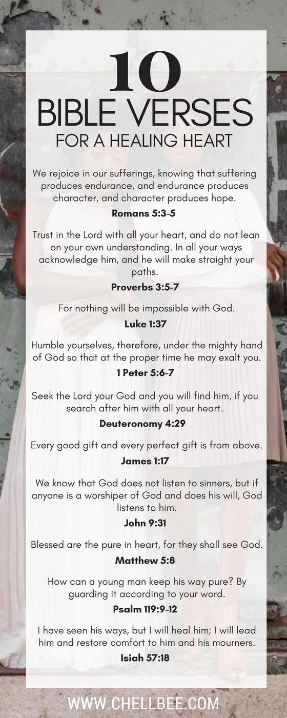 10 Bible Verses for a Healing Heart