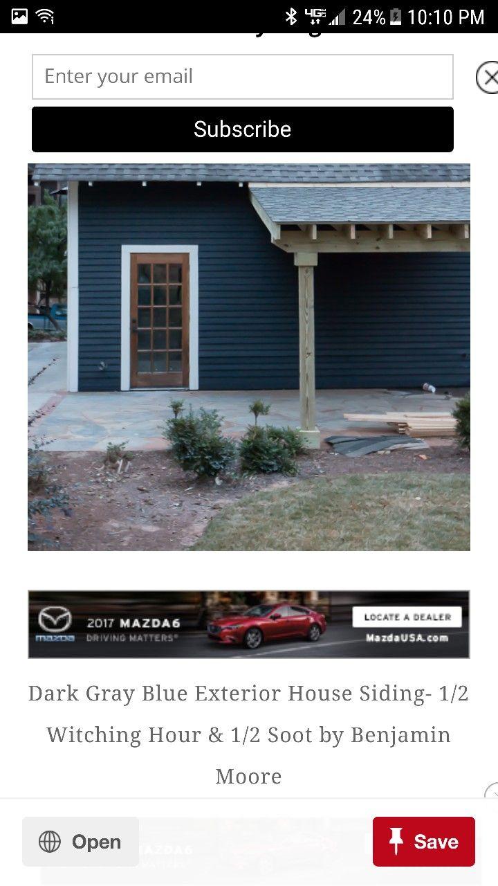 Front Door- Benjamin Moore 1/2 Witching Hour 1/2 Soot  sc 1 st  Pinterest & Front Door- Benjamin Moore 1/2 Witching Hour 1/2 Soot | Dadu0027s House ...