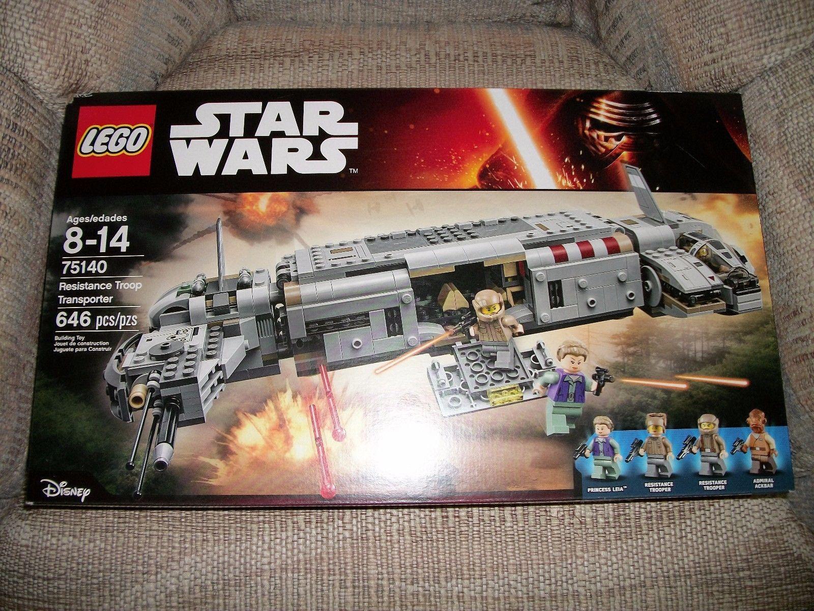Resistance Troop Transporter Star Wars LEGO 75140 Instructions ONLY