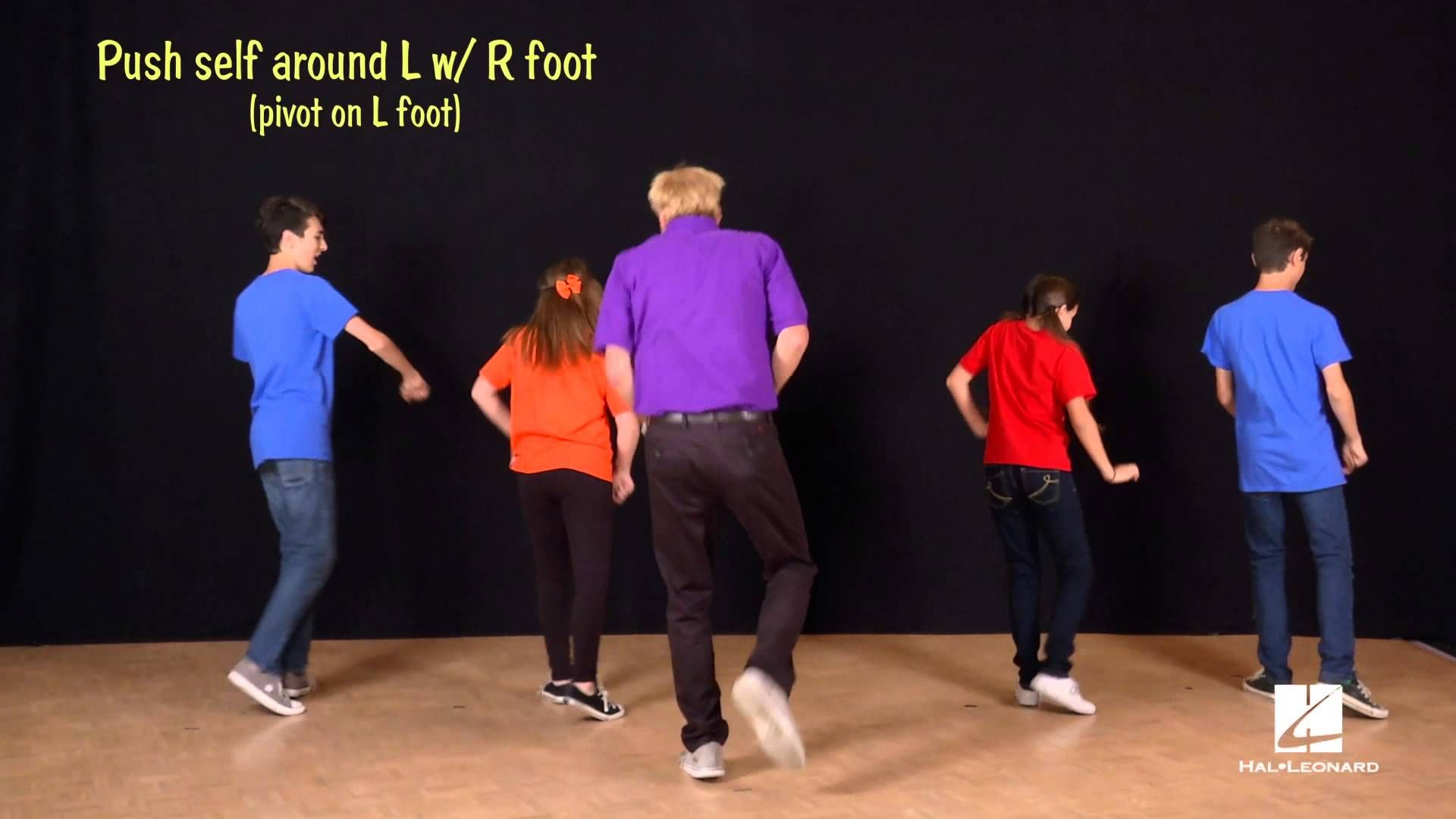 John Jacobson And Friends Show Us How To Dance To The Song Happy
