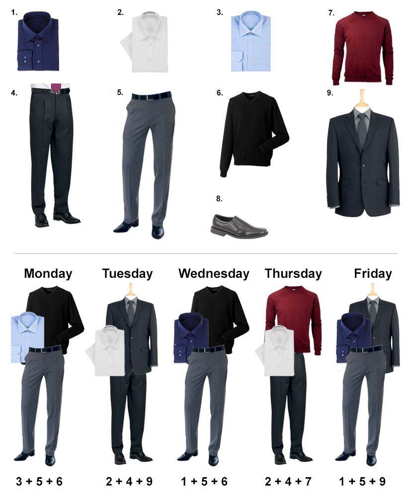 8c9d857f906e How to create a capsule workwear wardrobe on a budget
