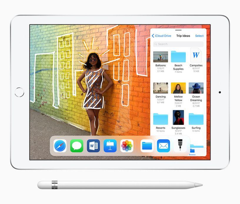 Apple 9 7 Inch Ipad With Apple Pencil Support Apple New Ipad Ipad Mini New Apple Ipad