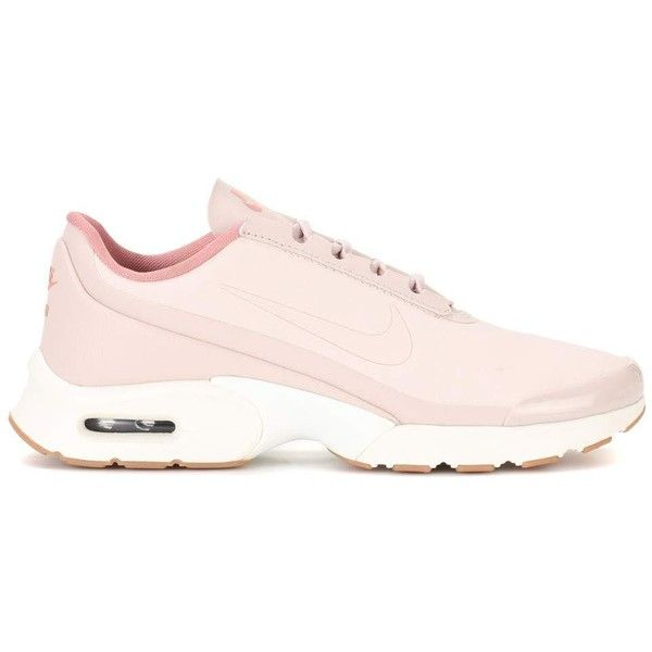 Nike Nike Air Max Jewell Sneakers (€120) ❤ liked on Polyvore featuring shoes, sneakers, nike, nike footwear, nike trainers, nike shoes and pink shoes