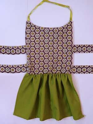 Easy Dog Dress Pattern Cut A Few Rectangles Sew Them Together And