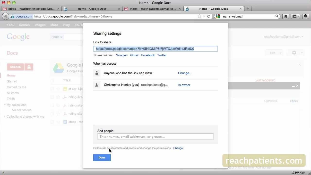 How To Upload And Share Large Files To Google Docs And