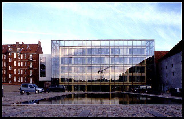 Arkitekternes Hus Kopenhagen.   3XN