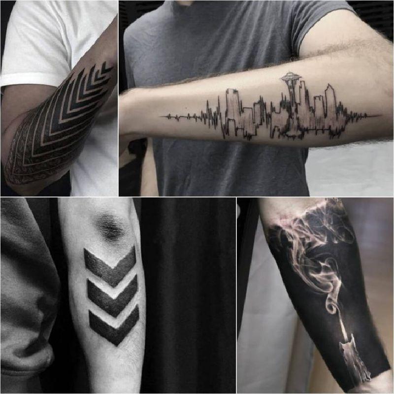 картинки тату для мужчин на руку