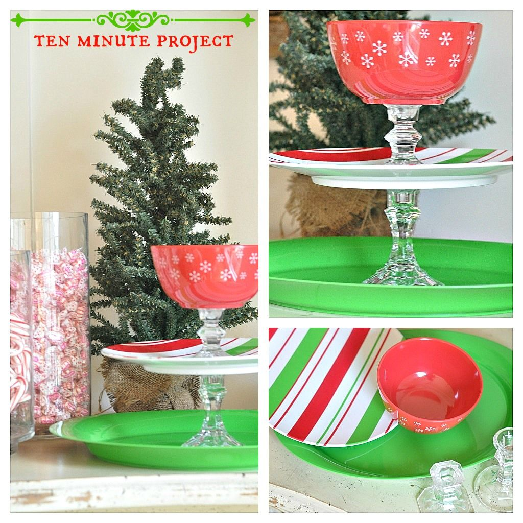 between you & me: Easy Peasy Christmas Project