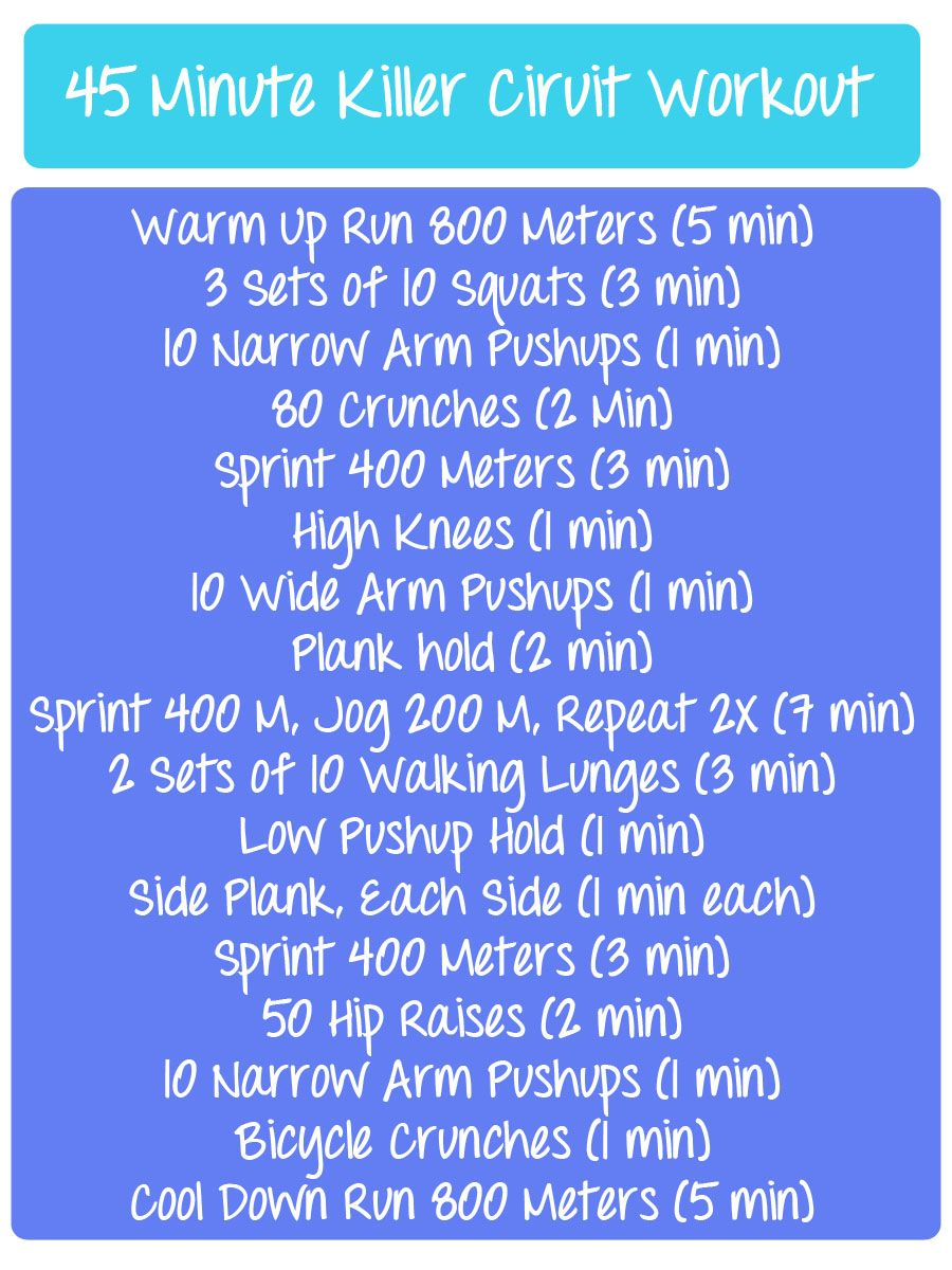 killer 45 minute circuit workout fitfluential exercises to trykiller 45 minute circuit workout fitfluential