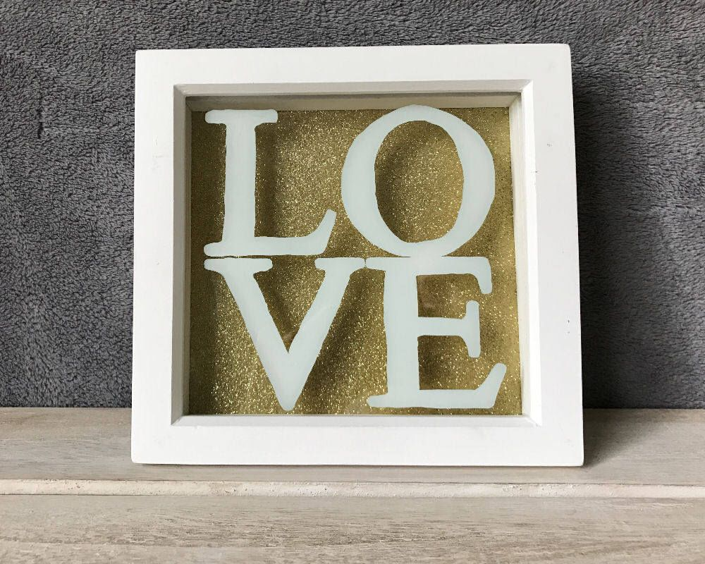 Love Quote Picture Frames Love Letters Quote Memory Framemiasorellabespoke On Etsy Https