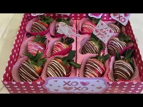 Cómo Hacer Fresas Cubiertas De Chocolate Para El Día De San Valentín Youtu Cubiertas De Chocolate Fresas Cubiertas De Chocolate Ramos De Fresas Con Chocolate