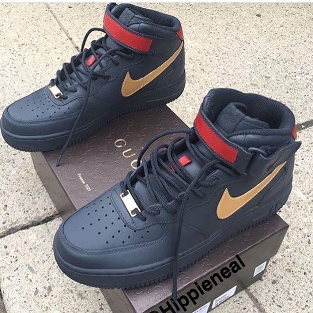 54831bf9e90968 Gucci Air Force Ones. Gucci Air Force Ones Gucci Sneakers