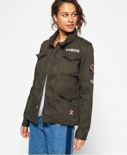 Winter Rookie Military Patch Jacket in 2019 | Products