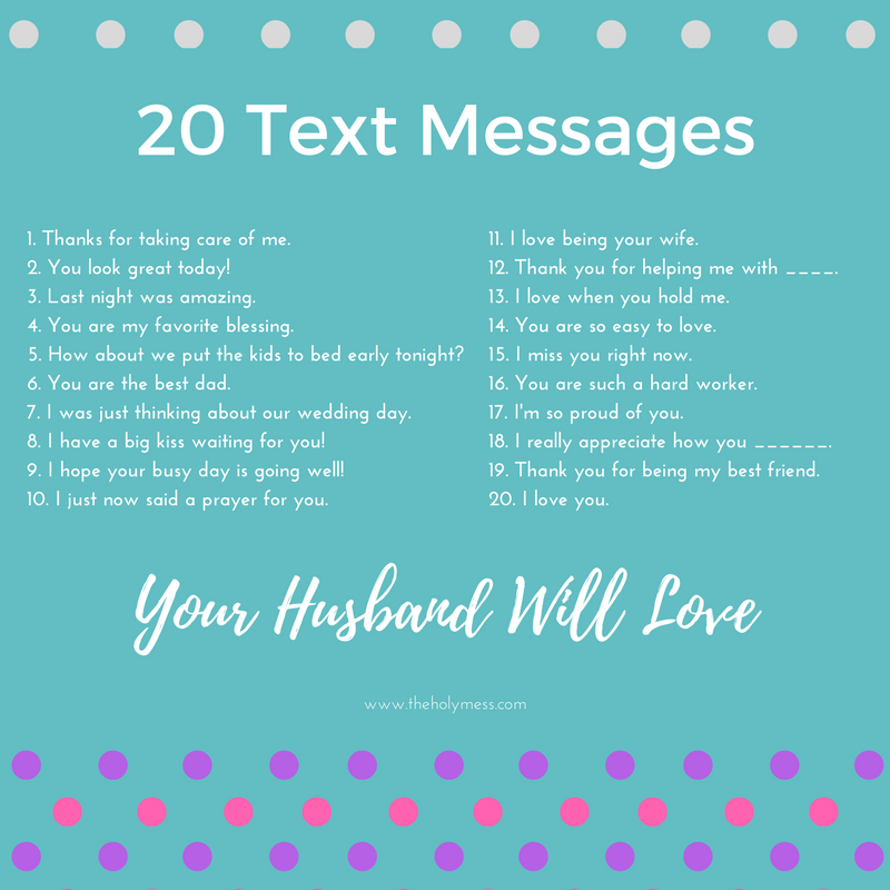 thinking about you text messages for him