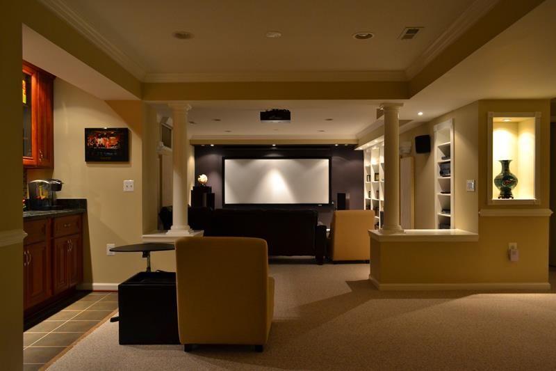 Basement Home Theater Design Ideas Decor 23 basement home theater design ideas for entertainment