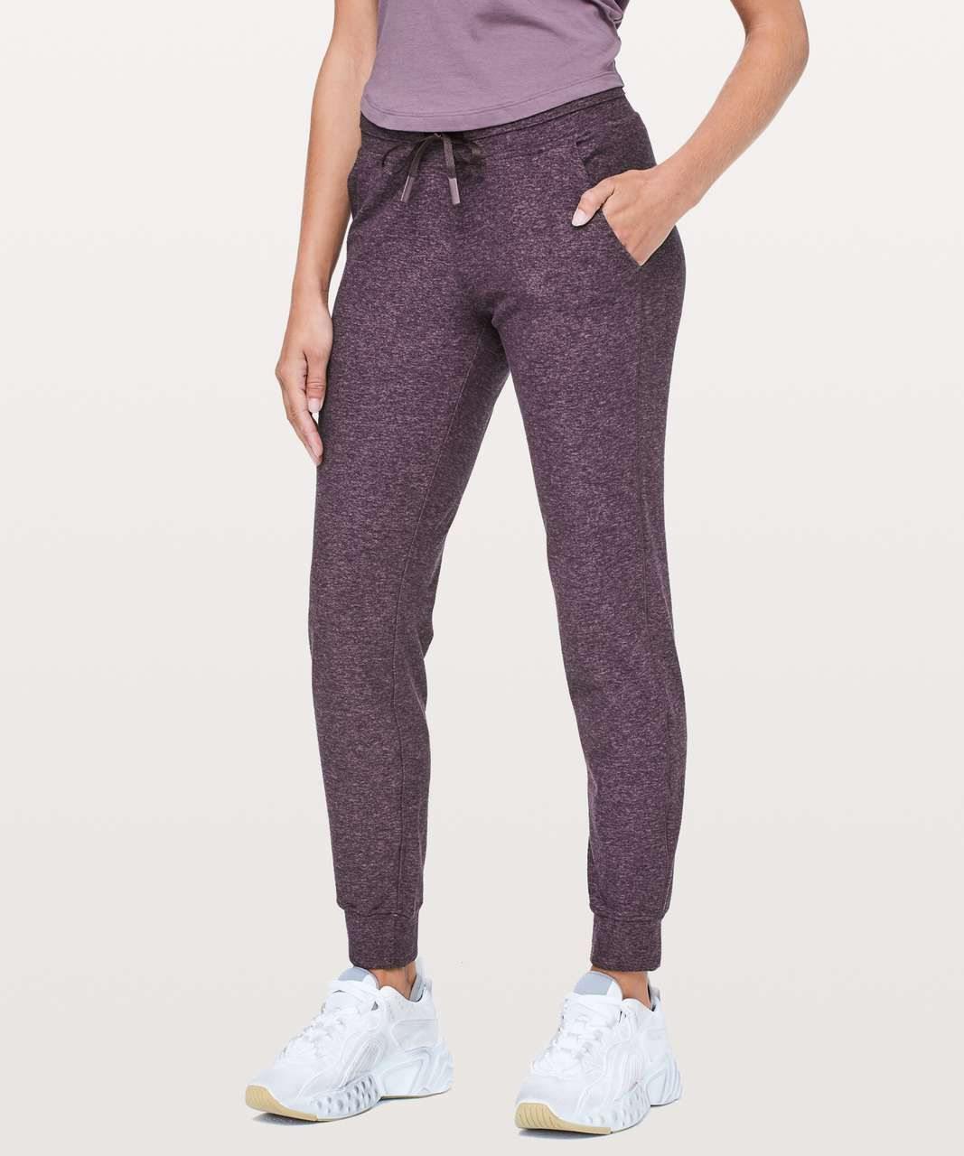 289d3dcba8 Color: Heathered Arctic Plum. Warm up, cool down, or kick back in these  cozy, sweat-wicking joggers.Rulu™Stretchy, naturally breathable Rulu™  fabric is ...