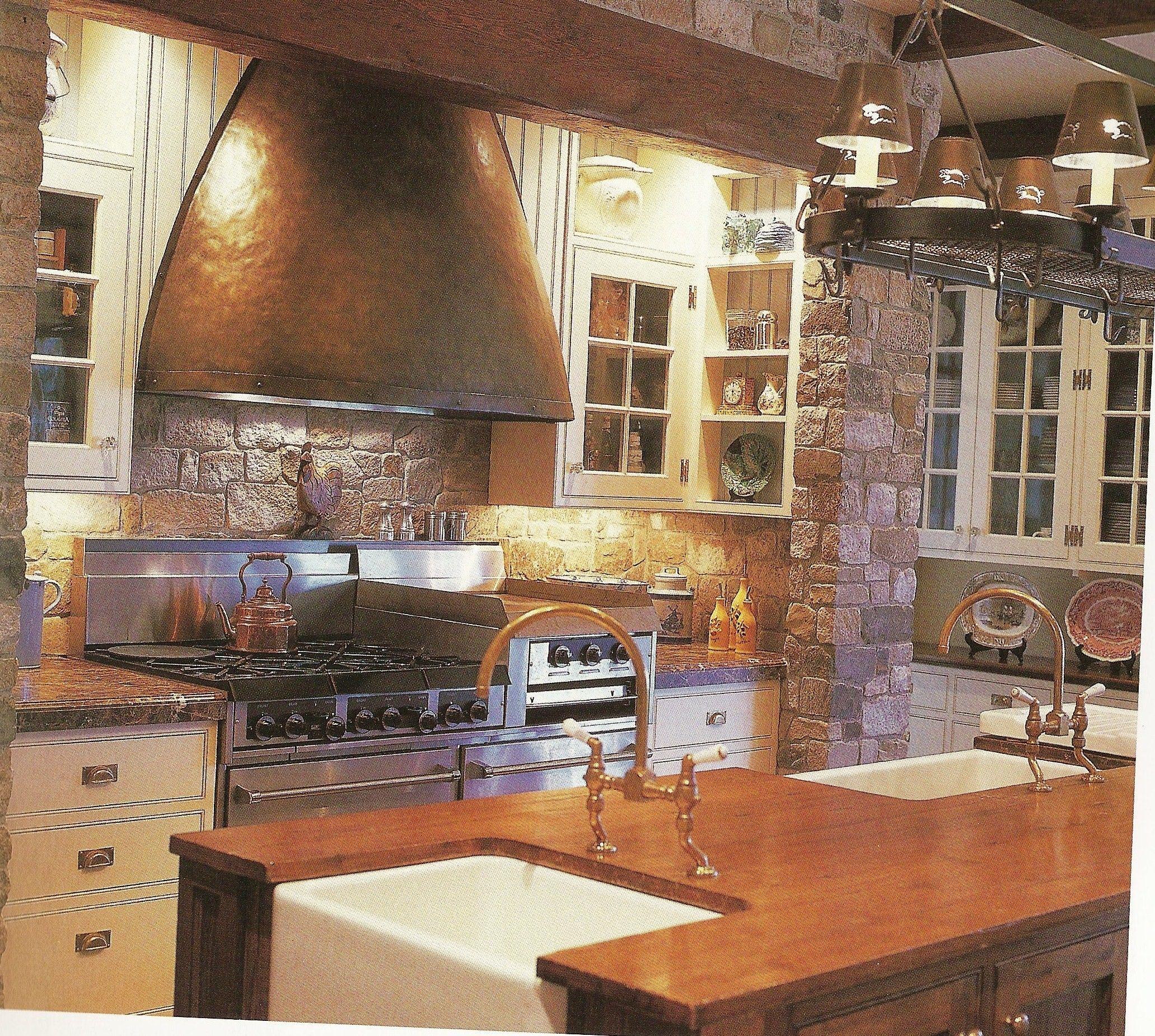 love the hood White farmhouse kitchens, Glass kitchen