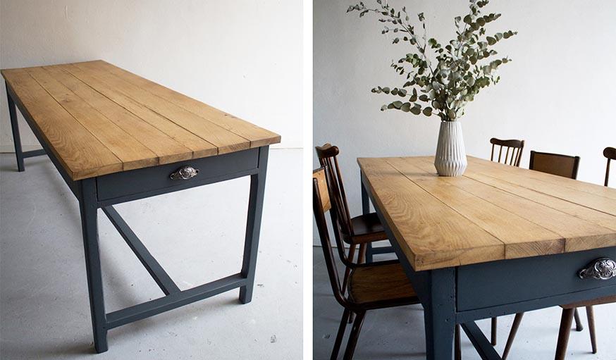 Trucs et astuces pour r nover et customiser des meubles - Relooking salle a manger rustique ...