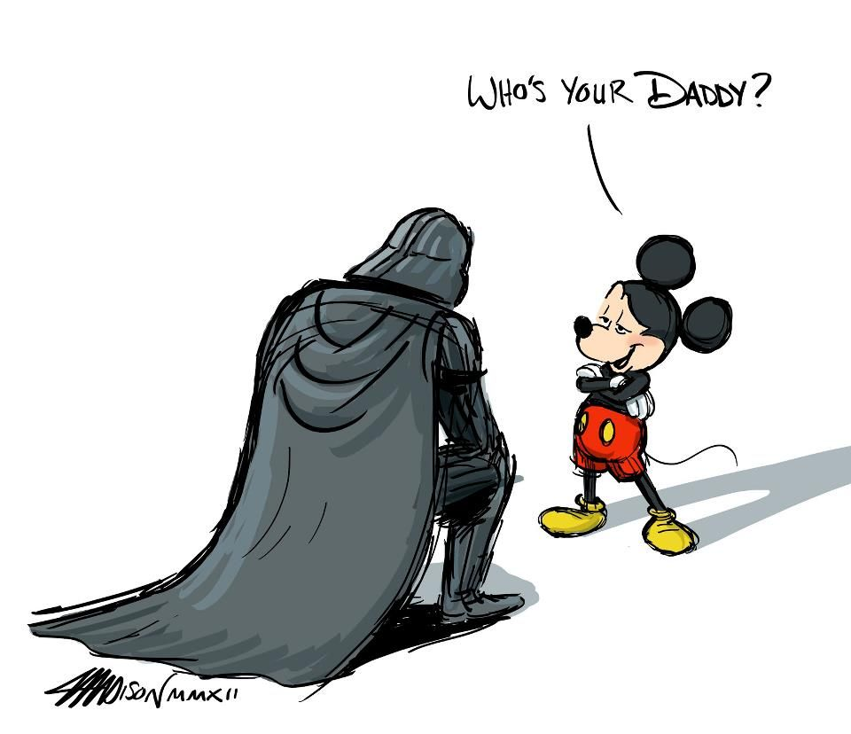 Darth Vader a Myšák