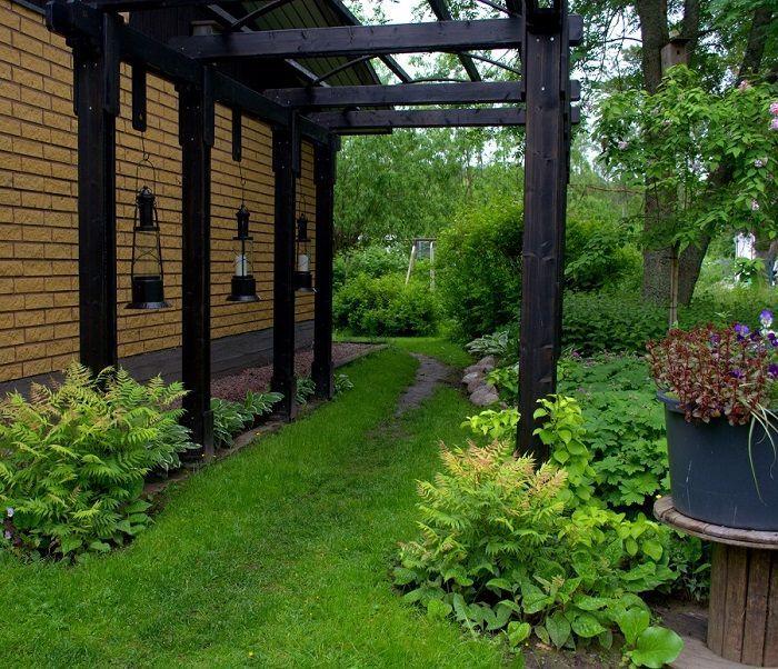 Pin By James Lee On Gardening Pinterest Pergolas Garden Ideas