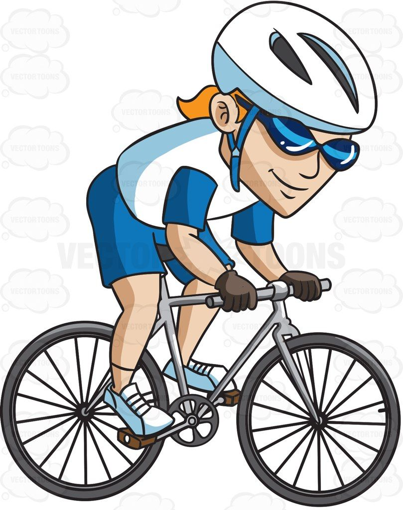 clipart mountain bike rider - photo #10