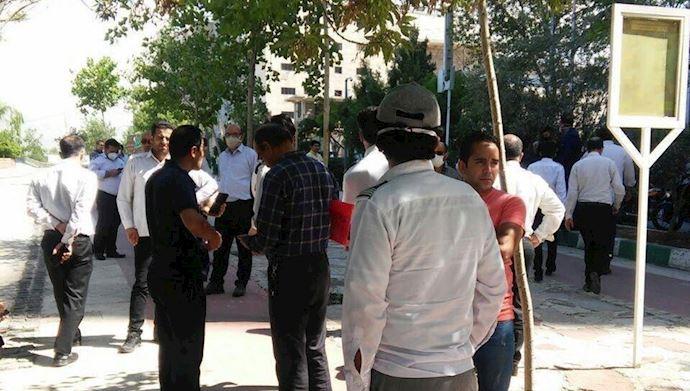 تجمع و اعتراض در شهر های زاهدان، کوت عبدالله، تهران، قم، قزوین، یاسوج و خراسان