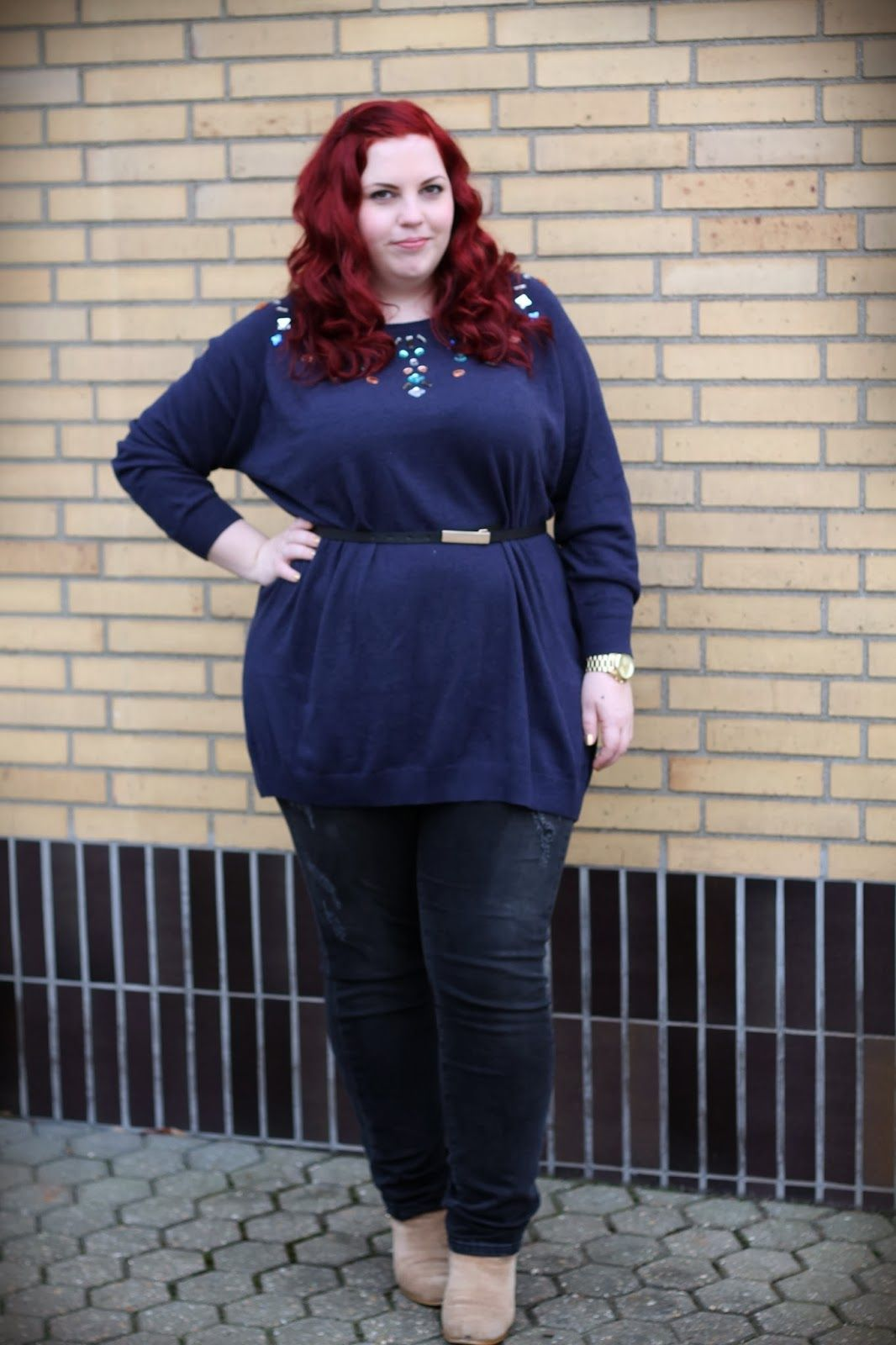 Curvy Sequins - Plus Size Outfit & Nail Design Blog: New JUNAROSE Outfit