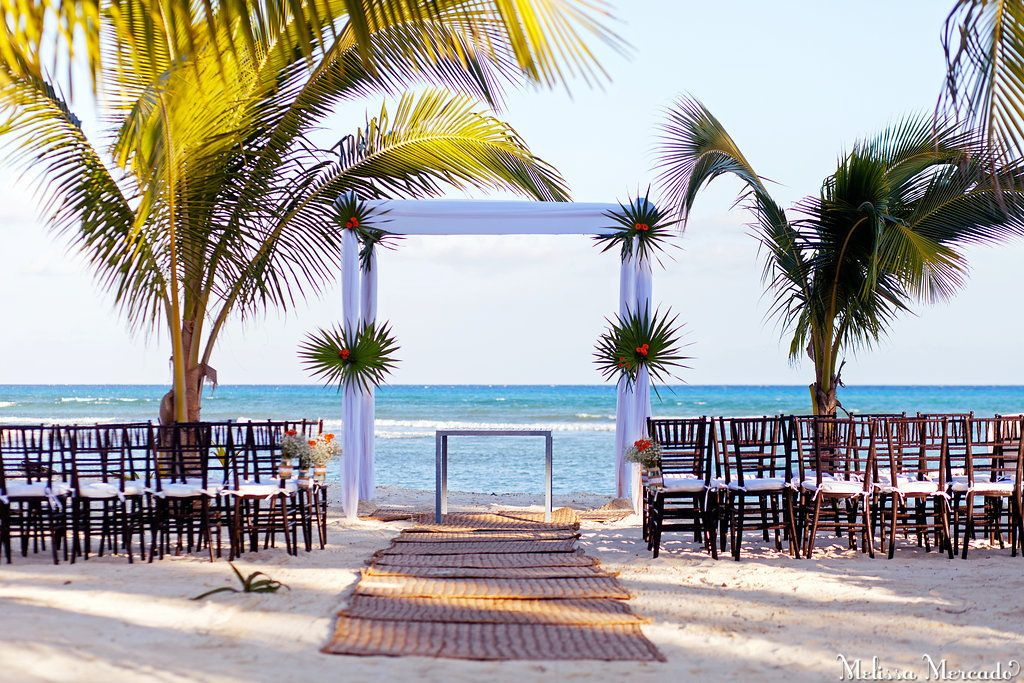 Barbie Brandon Wedding Pe Lae And Grand C Beach Club Playa Del Carmen Riviera Maya Mexico