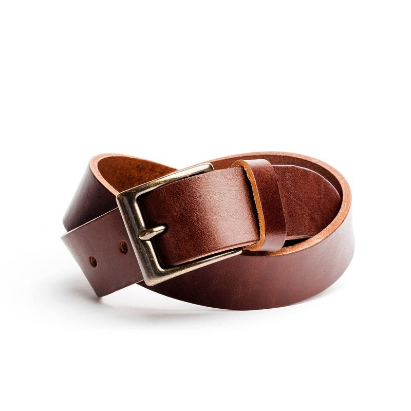 Circa Leathergoods Mens Handcrafted Leather Belt