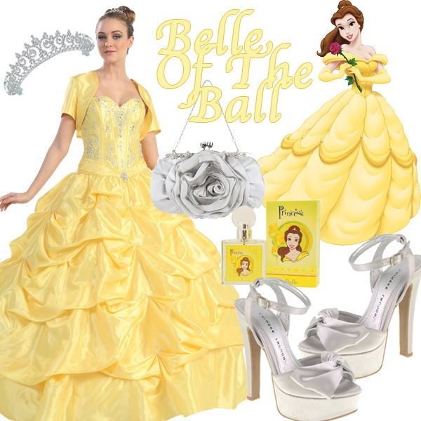 Disney Princess Glamorous Fashion - Belle | Fashion Inspired By ...
