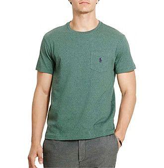 Polo Ralph Lauren® Men's Short Sleeve Cotton Jersey Pocket Tee