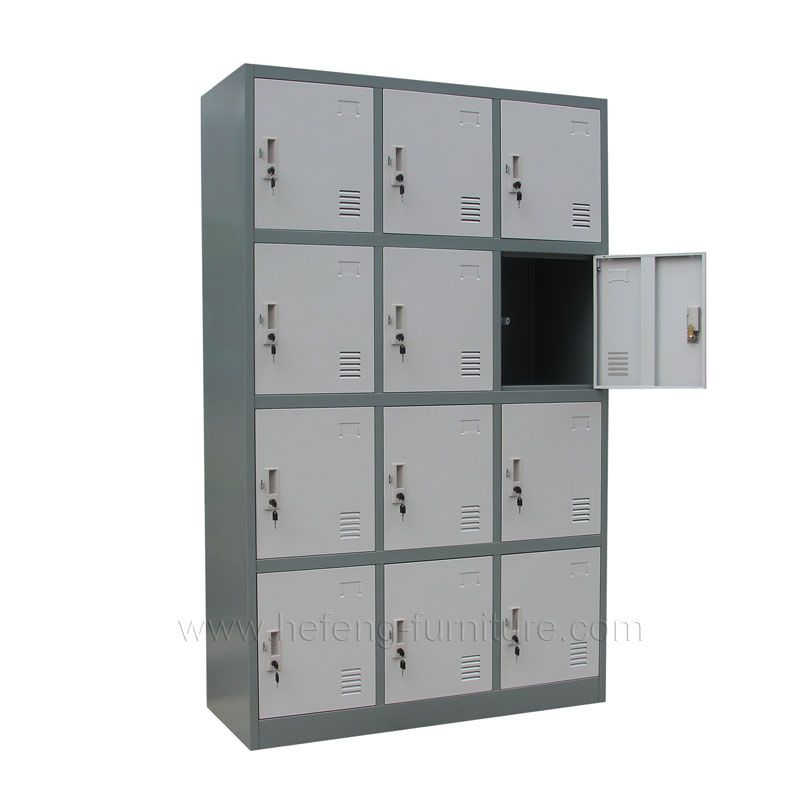 12 Door Sports Storage Lockers Luoyang Hefeng Furniture Locker Storage Storage Lockers
