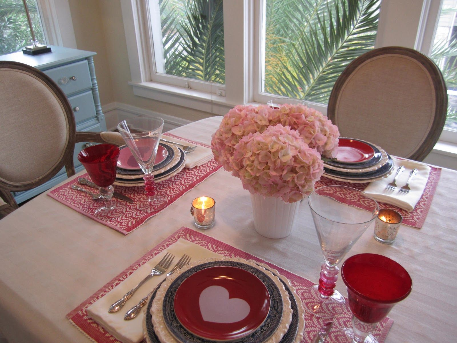 Valentine S Day Dinner Table From The Blog Pinterest Dinner Table