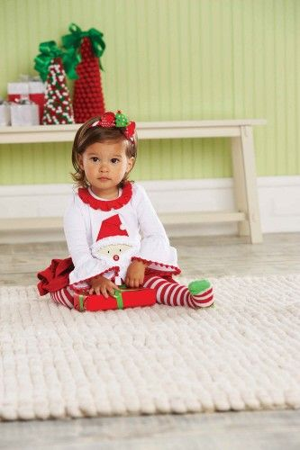 santa tab skirt set by mud pie - Mud Pie Christmas Outfit