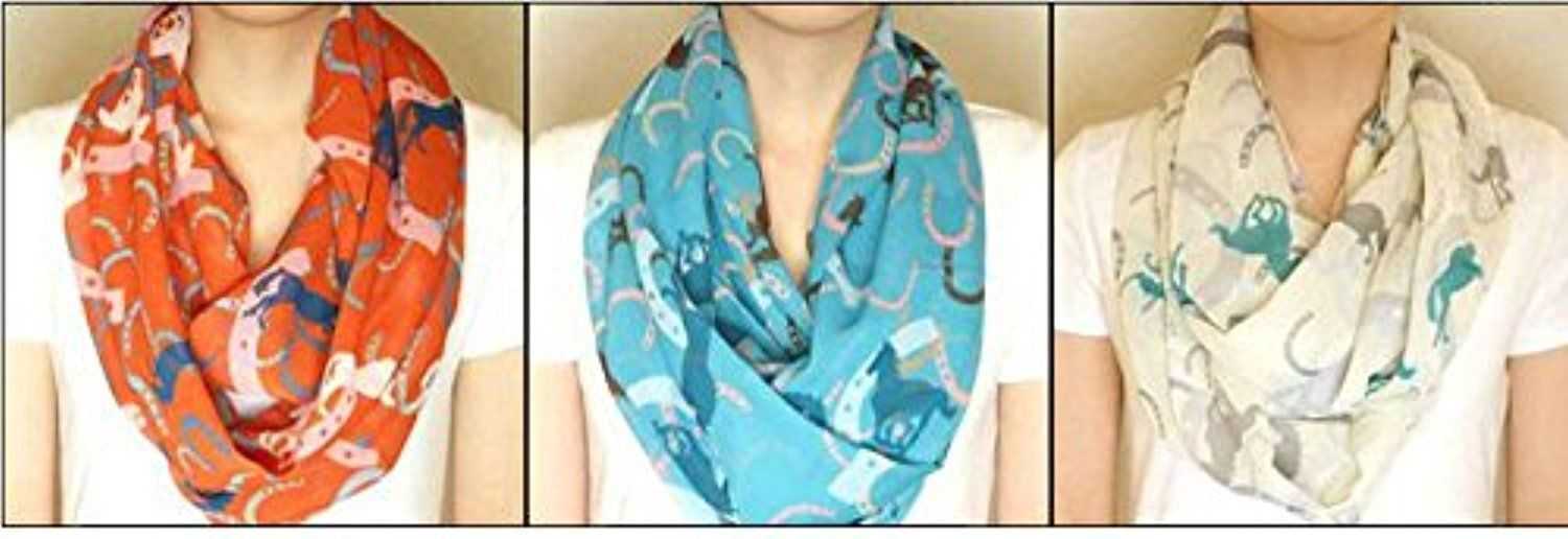 William Hunter Equestrian Infinity Scarf -- Awesome products selected by Anna Churchill