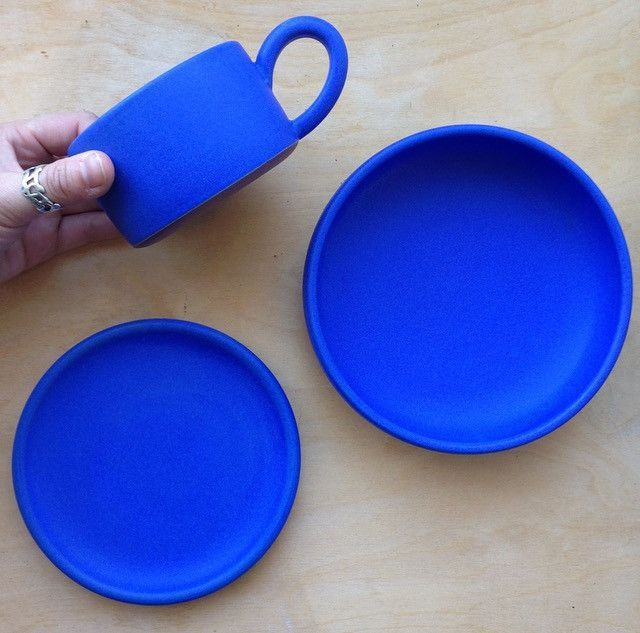 Dina No Ceramics blue