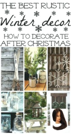 #decor #Favorite #how to home decor house #Rustic #Winter Favorite Rustic Winter Decor        How to decorate after Christmas - The best winter decor inspiration for how to decorate your home for winter. Great rustic winter decor! #dekoeingangsbereichaussen