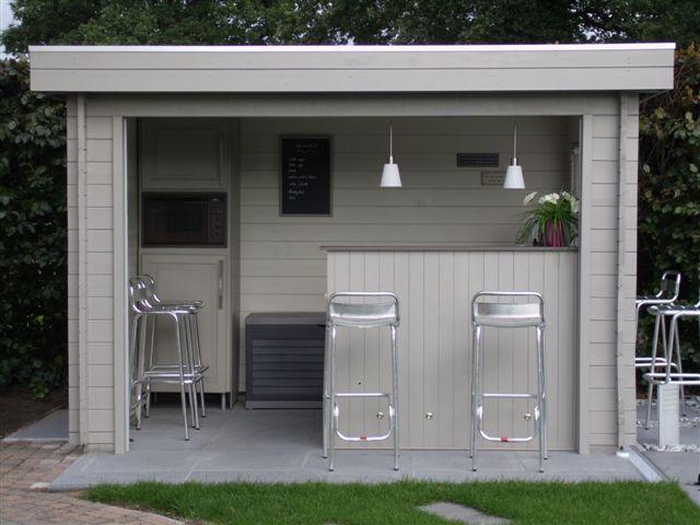 Prieel met bar opleuken buiten en tuin garden pinterest bar lounge and gardens for Buiten patio model
