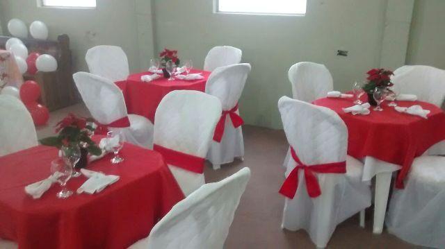 Toalha de mesa branca para eventos sp