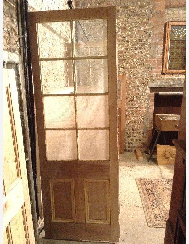 727 Sliding Victorian half glazed room dividers Historic doors
