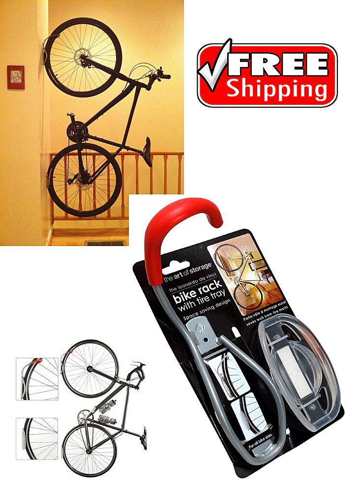 Bike Wall Rack Hook Tire Tray Vertical Bicycle Storage Mount Holder Apartment Bicycle Storage Bike Storage Bicycle Accessories Kids