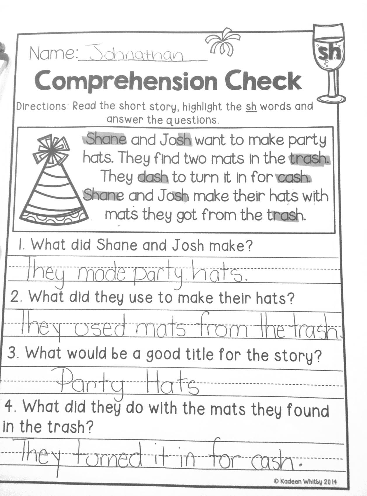 - Daily Fluency And Comprehension Passages. January Edition. Ela